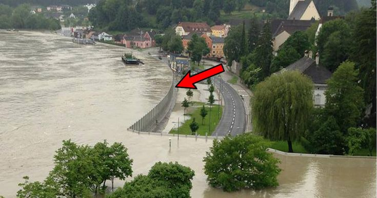 Τα κινητά τείχη πλημμύρας στην Αυστρία που κρατούν τους ανθρώπους ασφαλείς. | Τι λες τώρα;