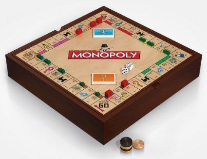 Deluxe 5in1 Game Set with Monopoly MONOPOLY GO Chess and More >>> More info could be found at the image url.
