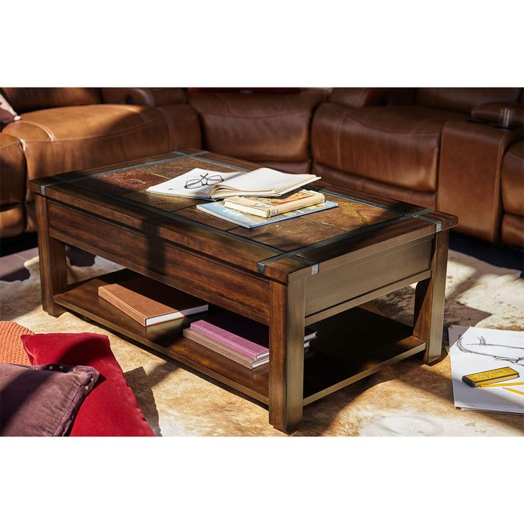 Best Slate Ridge Lift Top Coffee Table In 2020 Lift Top 400 x 300