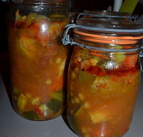 La recette de la Conserve de Couscous de mon père du site Les petits plats du Prince