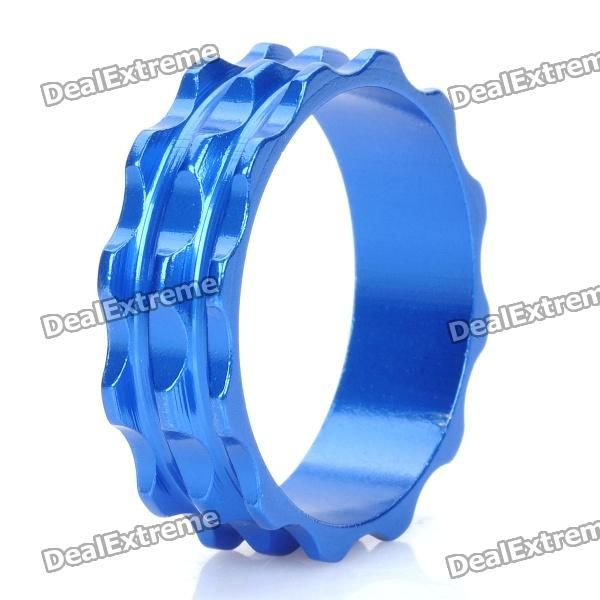 Color: Blue - Material: Aluminum alloy - Height: 10mm - Inner diameter: 28.6mm - CNC processing - Suitable for front fork diameter: 28.6mm http://j.mp/1ljMB3Z
