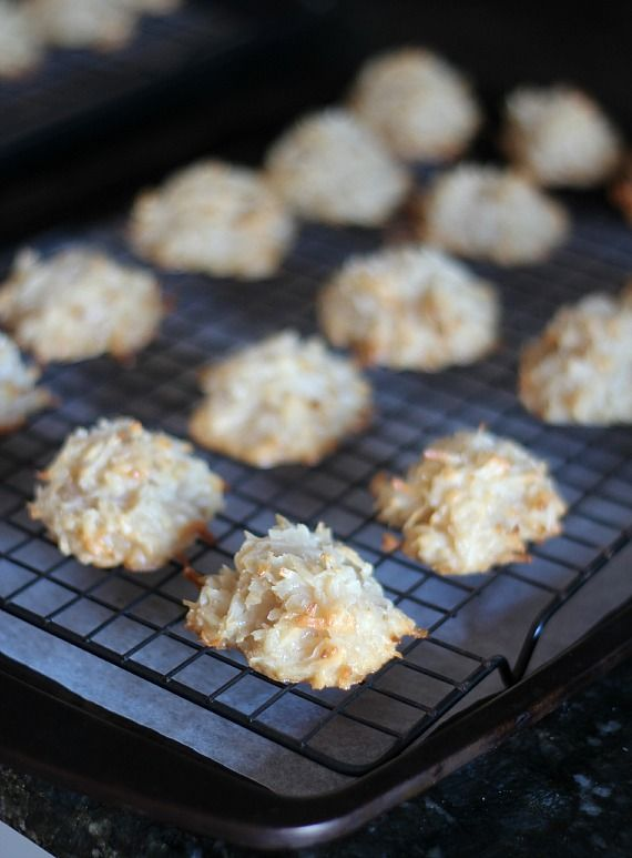 Salted Caramel Coconut Macaroons | Recipe