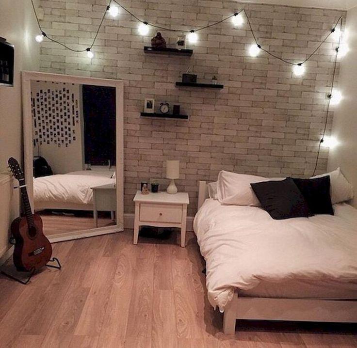 20+ Amazing College Apartment Bedroom Decor Inspirations