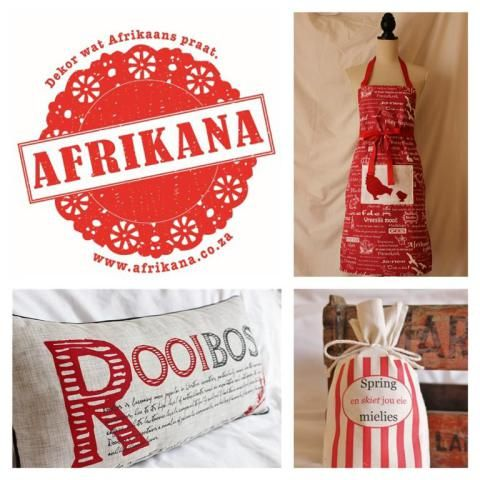 Afrikana - Dekor wat Afrikaans praat 1 (Medium)