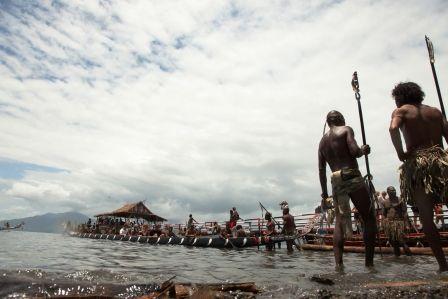 The annual KENU AND KUNDU FESTIVAL in Milne Bay Province held at the beginning of November. http://www.blog.pagahill.com/#!Hello-Alotau/c2o6/563c50580cf23796cd8f8796