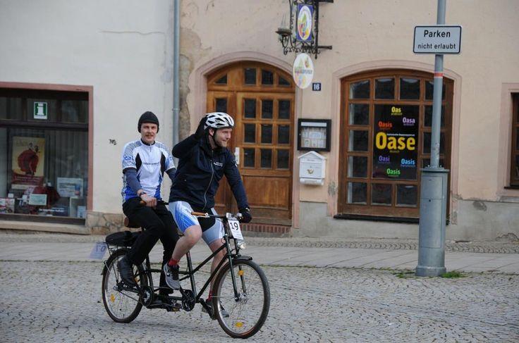 Instagram picutre by @steppenwolfbikes: Auch ein schickes #Tandem ist auf der #SaHaRa #Radtour von Sangerhausen nach Haldensleben zu finden!  #Sangerhausen #Haldensleben #Biketour #Radfahren #Fahrrad #ebike #steppenwolf #MIFA - Shop E-Bikes at ElectricBikeCity.com (Use coupon PINTEREST for 10% off!)