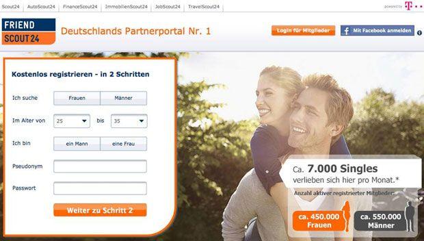 FriendScout24 - Deutschlands Partnerportal Nr. 1