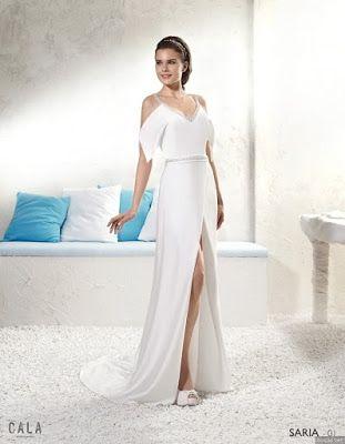 Vestidos de novia corte griego