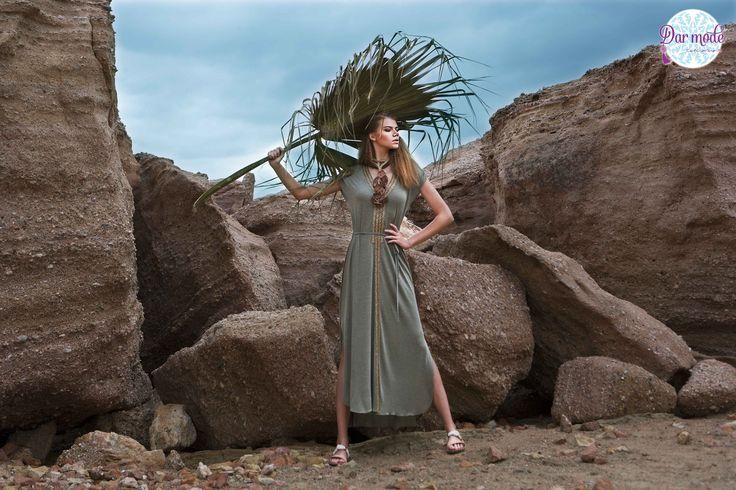 Kaftan Ithaki・Salt in the air Sand in my hair lookbook