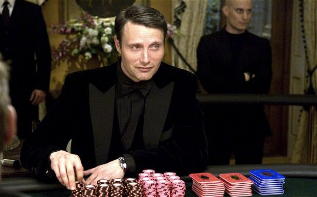 "(French villain) Le Chiffre, played by Mads Mikkelsen in the 2008 film ""Casino Royale"" http://jamesbond.wikia.com/wiki/Le_Chiffre_%28Mads_Mikkelsen%29"