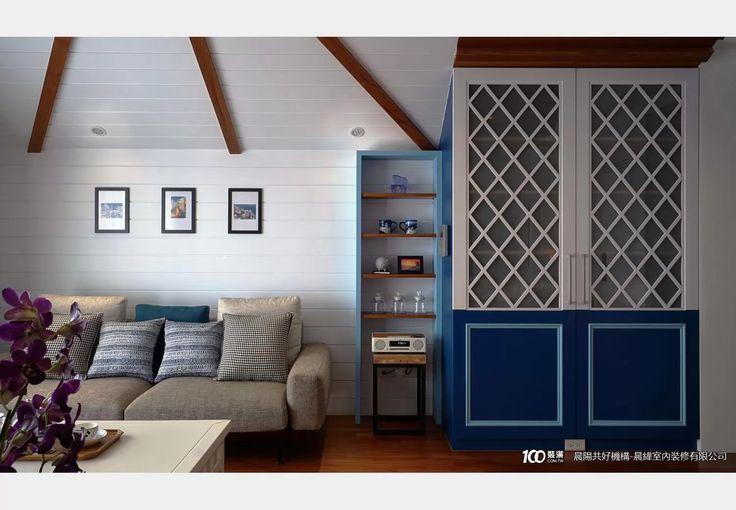 愛琴海_地中海風設計個案—100裝潢網