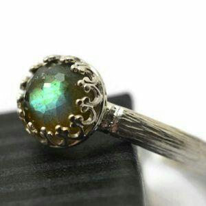Beautiful labradorite ring