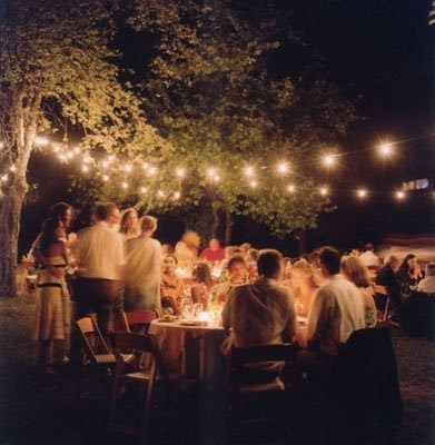 Great backyard wedding.  Classy and elegant.