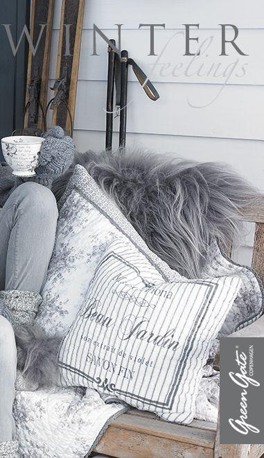 cozy winter cushions.