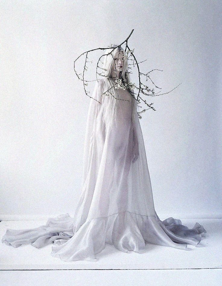 Beautifully strange: Kristen McMenamy is truly breathtaking in a shot by Tim Walker for The Sunday Times Style 2013 ☮k☮ #TiMwAlKeR