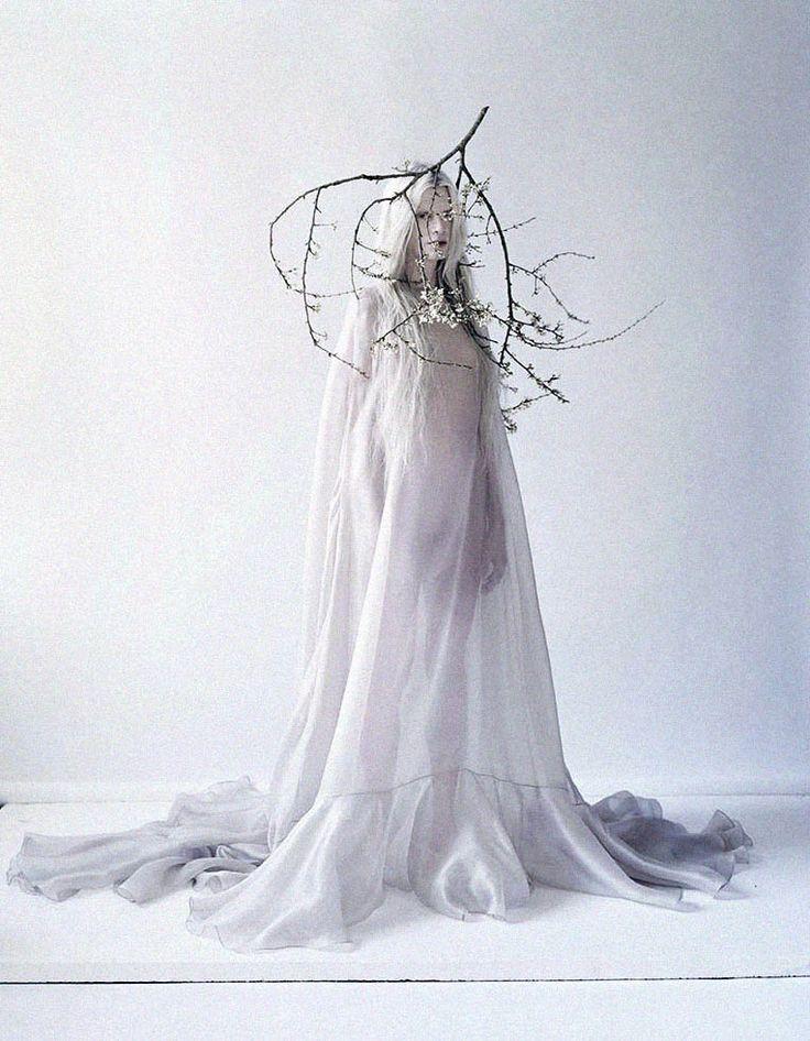 Beautifully strange: Kristen McMenamy is truly breathtaking in a shot by Tim Walker for The Sunday Times Style 2013 ☮k☮ #TiMwAlKeR