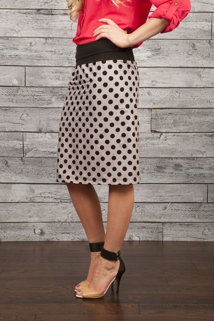 Reversible skirts for LDS sister missionaries--or anyone else who likes a two-fer.  They have several choices of fabric and style on this website.