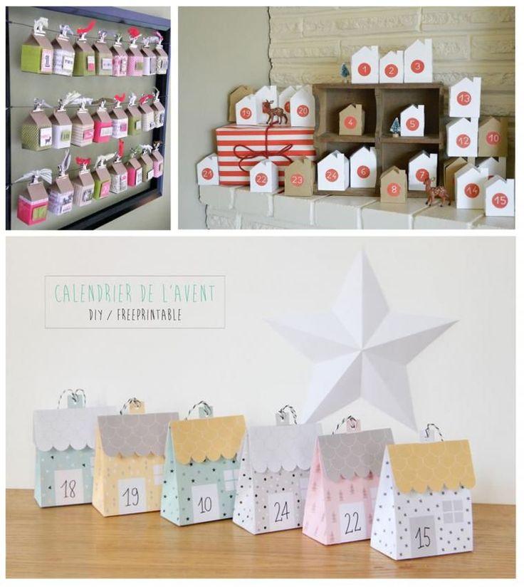 В ожидании волшебного Рождества: 70 разнообразных вариантов адвент-календарей для малышей - Ярмарка Мастеров - ручная работа, handmade