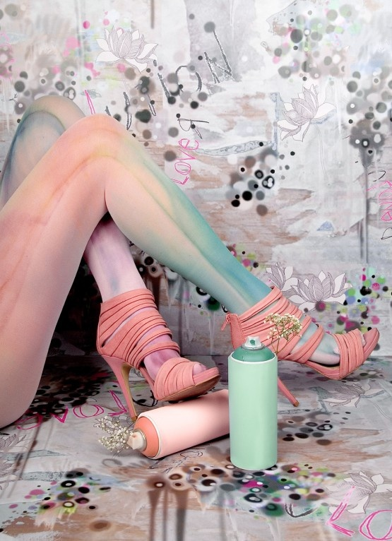 marbled tights - Ava you would love these!