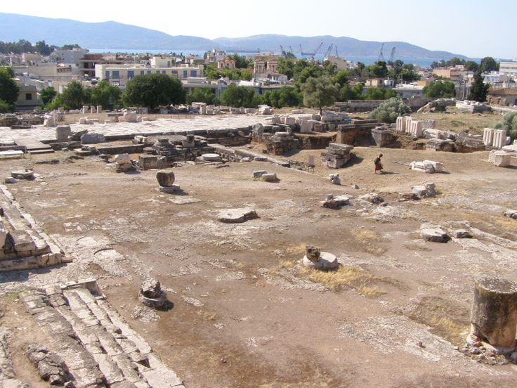 "The ""Telesterion"" Achaeological site of Eleusis."