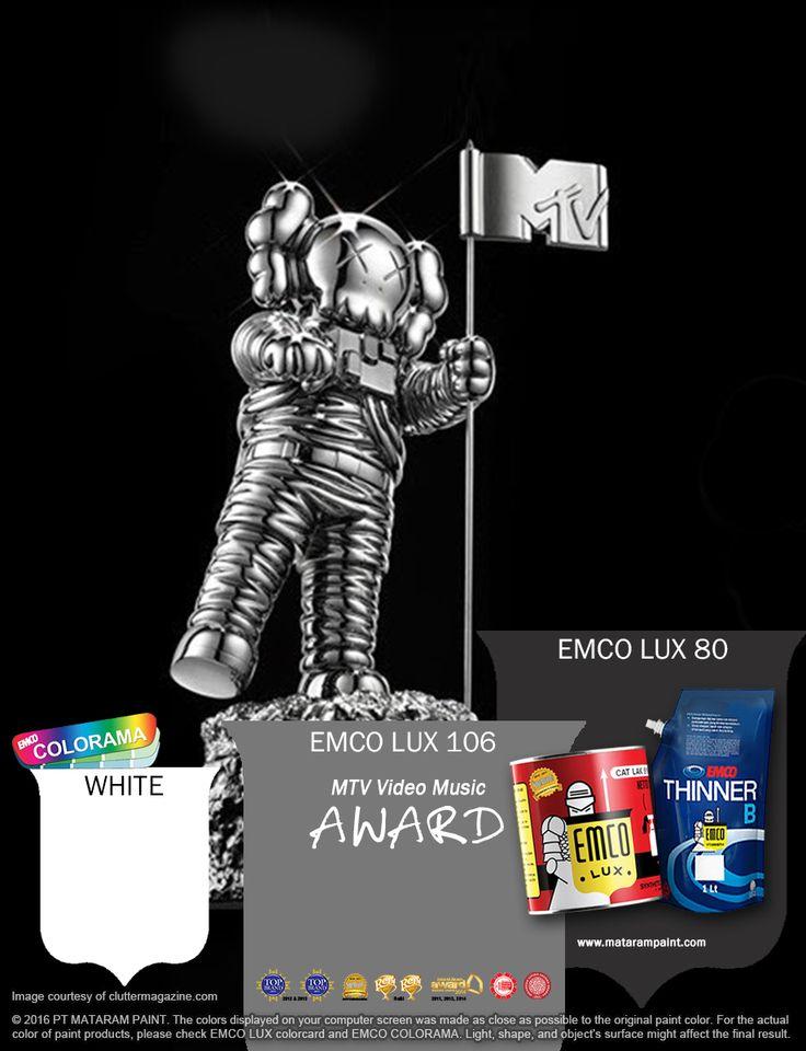 Kawan EMCO pesta musik selalu menjadi ajang yang diminati para musikus dan juga masyarakat penggemar musik. Terinspirasi dengan kegemparan MTV Video Music Award 2016 dan keindahan logonya jadikan hunian Anda seindah alunan musik dengan warna EMCO LUX 106, EMCO LUX 80 dan WHITE dari palet EMCO. Untuk artikel menarik lainnya silakan cek di http://matarampaint.com/news.php.