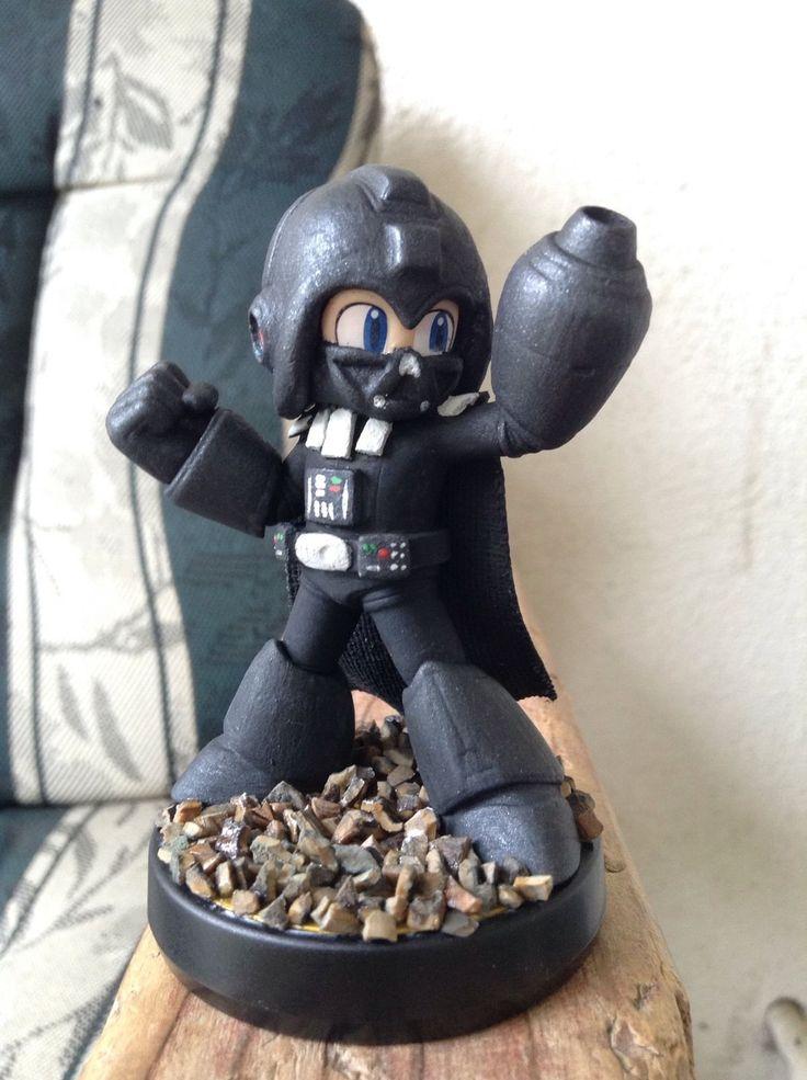 Custom Amiibo Darth Vader Mega Man | eBay