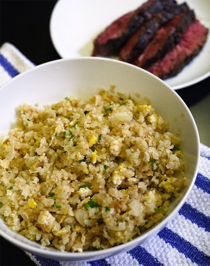 18. Cauliflower Paleo Fried Rice #healthy #vitamix #recipes http://greatist.com/eat/vitamix-recipes