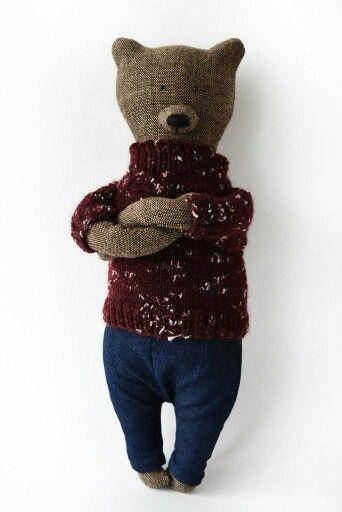 Eyl the bear from Philomena Kloss etsy.com/shop/philomenakloss