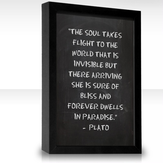 a theory of the soul by plato On the theory of recollection (73c-75)  argument for the immortality of the soul.