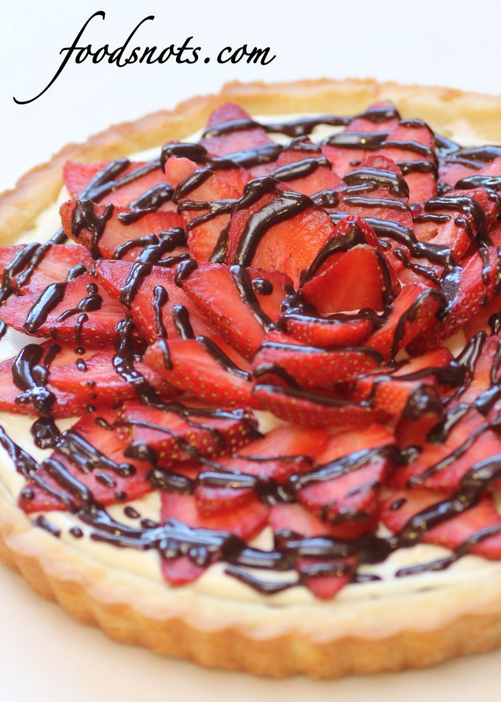 Strawberry Cream Cheese Tart « Recipe Snobs