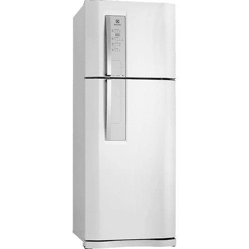 2.100 - Geladeira / Refrigerador Electrolux Duplex 2 Portas DF51 Frost Free 427 Litros Branco - Submarino.com