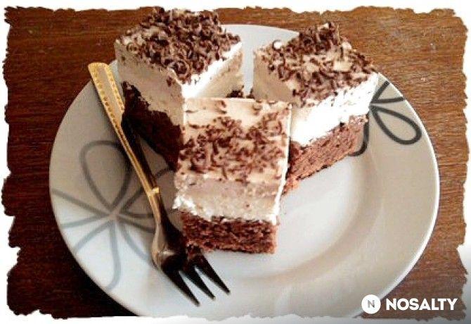 Túrós-kapucsinós süti