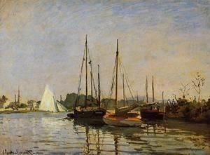 Pleasure Boats  Claude Oscar Monet