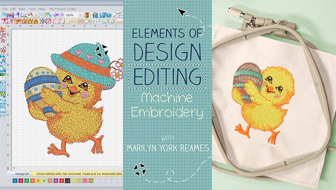 Learn How to Use Embroidery Design Software with this Craftsy Class - Enhance your library of embroidery designs with simple alterations that lead to perfect stitches! - via @Craftsy
