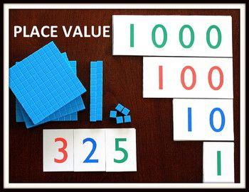 Printable Number Cards! 1-9, 10-90, 100-900, & 1,000-9,000.