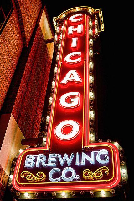 Neon Sign- Chicago Brewing Co., Las Vegas, Nevada