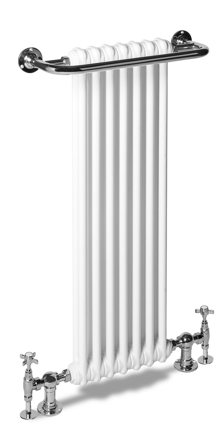 Modern bathroom exhaust venti invisible wall mounted fan - Traditional Bathroom Radiator With Simple Period Style