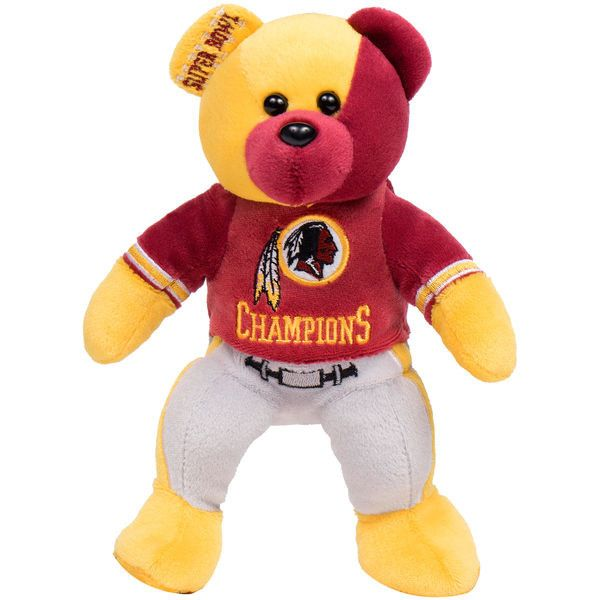 Washington Redskins Super Bowl XXVI Champions Thematic Bear