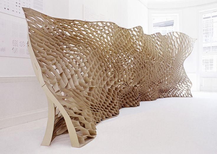 Honeycomb Morphologies (digital fabrication).