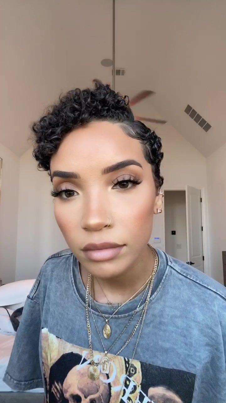 Raven Elyse On Tiktok Natural Hair Styles Curly Hair Styles Hair Sytles