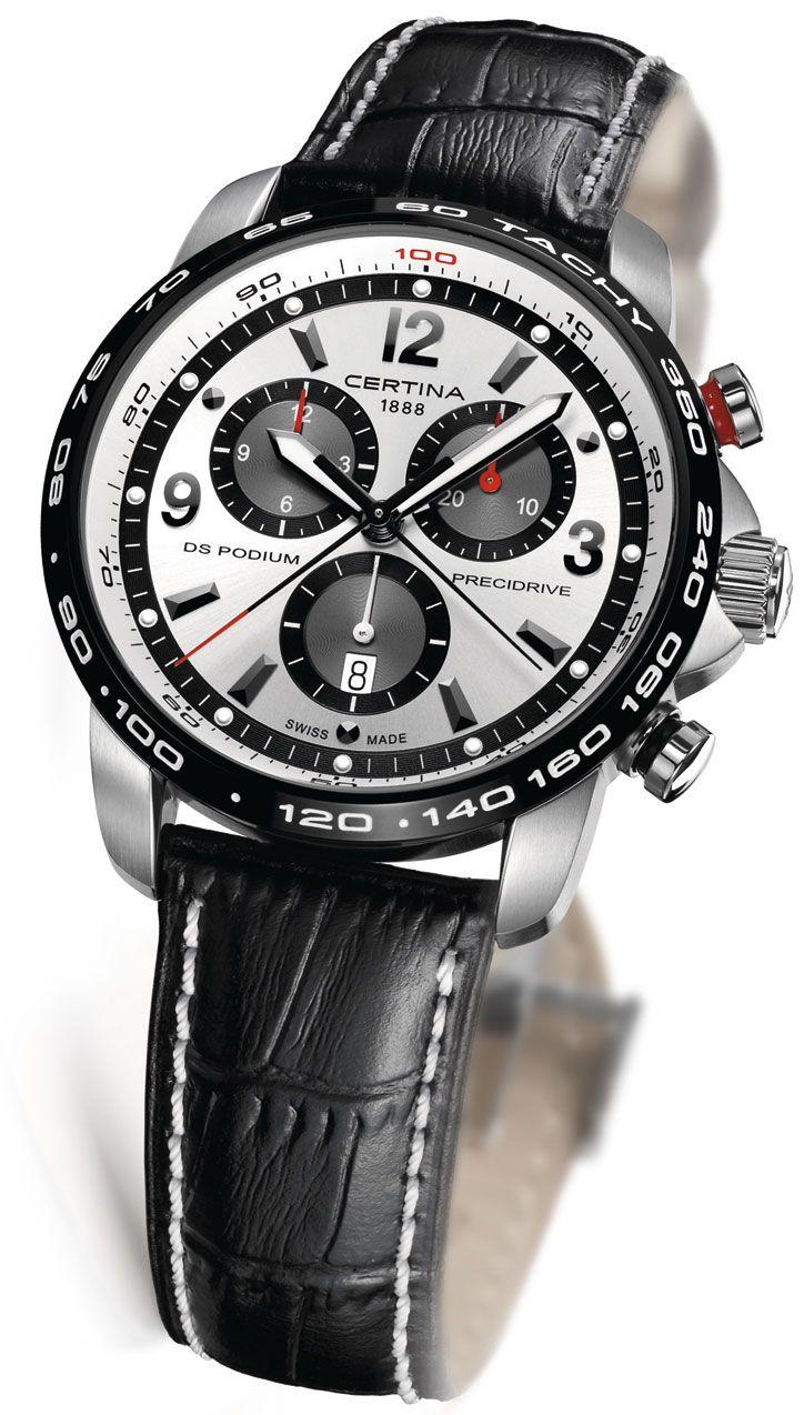 Часы certina ds podium стали легендой признанного бренда.