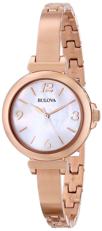 Watch: Gold watches best price Bulova Women's 97L137 Stainless Steel Watch