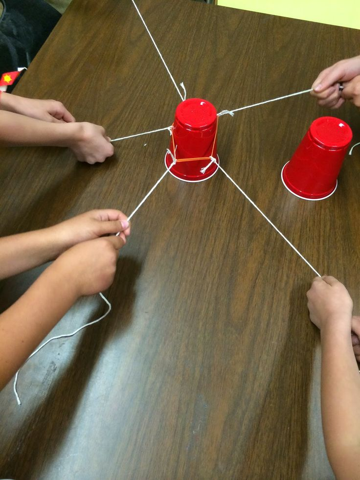 Teamwork: Cup Stack Take 2 Can be used to promote reflection, what works? What doesn't? When are we more sucessful? When did we struggle most?