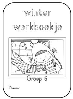 Winter werkboekje groep 5