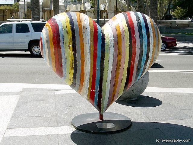 "Part of, ""Hearts in San Francisco,"" an annual public art installation ~ http://en.wikipedia.org/wiki/Hearts_in_San_Francisco"