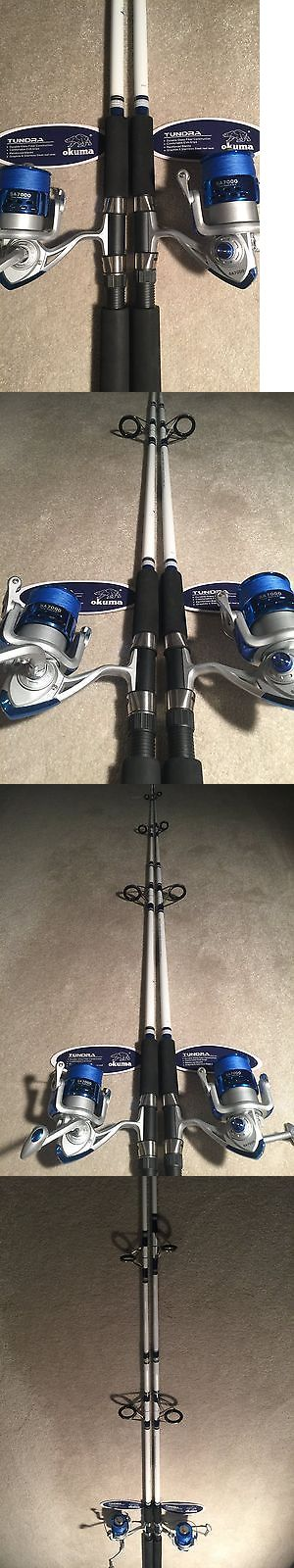 Saltwater Combos 179959: Two Okuma Tundra 8' Surf Spinning Rod And Sa7000 Spinning Reel Combos -> BUY IT NOW ONLY: $140.0 on eBay!