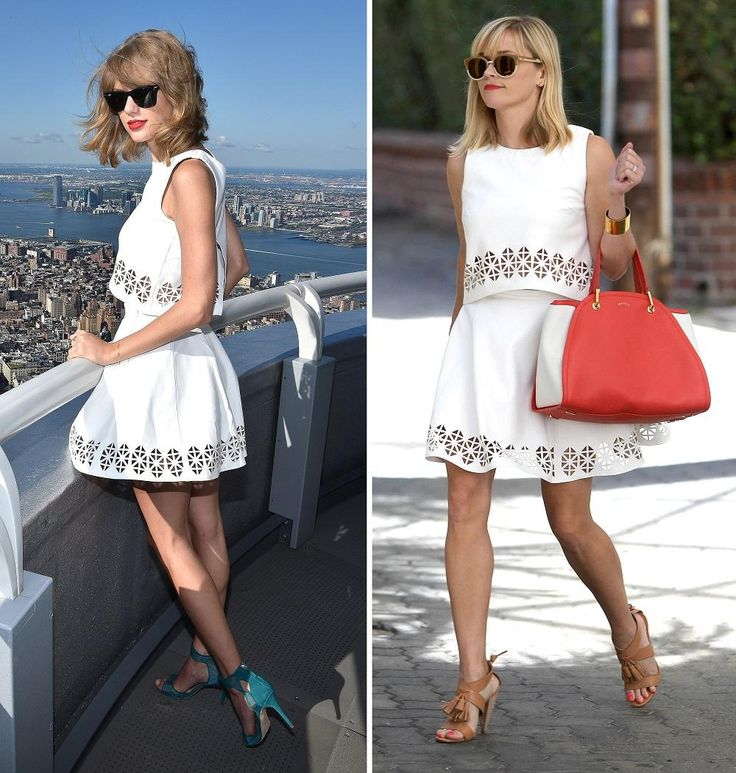 Jake Gyllenhaal isn't the only thing @taylorswift13 and @RWitherspoon have in common: http://yhoo.it/1mwg8lW