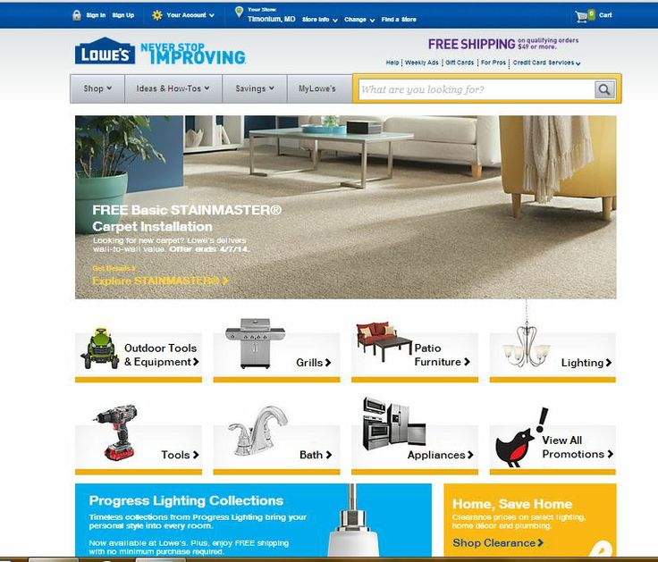 Image based home page