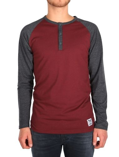 """Rugged Henley LS [anthra red] // """"Do It Today"""" - IRIEDAILY Pre Spring 2015 Collection - OUT NOW! // MEN: http://www.iriedaily.de/men-id/men-pre-spring-2015/ #iriedaily"""