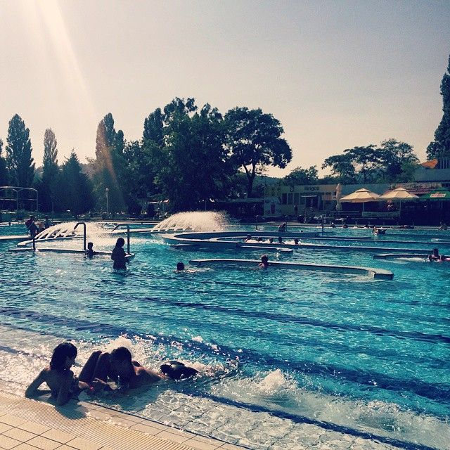 #PalatinusStrand #Budapest #Pool #Outdoor #Summer